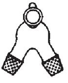 Colector separador por giro para dos matraces