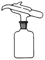 Dibujo esquemático del dosificador de Kipp
