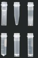 Microtubos a rosca transparentes