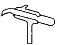Dibujo esquemático del dosificador de Kipp para tapón de goma