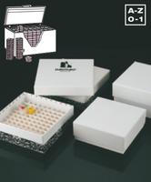 Cajas de congelación en cartón para crioviales y microtubos