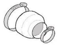 Reducción para brazos extractores