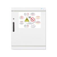 Armario de seguridad para productos inflamables TIPO 90. 1 puerta pequeño