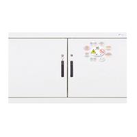 Armario para productos inflamables TIPO 90. 2 puertas pequeño