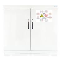 Armario de seguridad para productos inflamables TIPO 90. 2 puertas mediano.