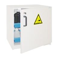 Cabina de seguridad de PVC especial para almacenamiento de ácidos y bases.   De
