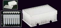 Sistema de archivo de muestras translúcido